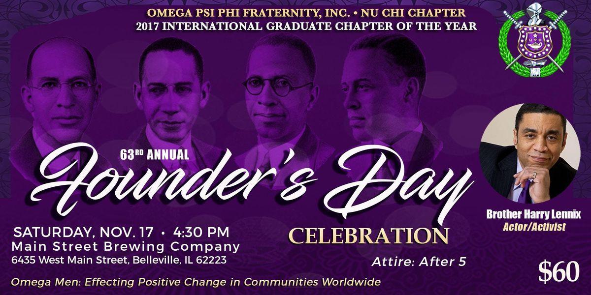 Omega Psi Phi Founders Celebration - Nu Chi Chapter
