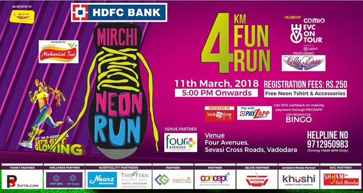 HDFC Bank Mirchi Neon Run