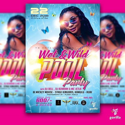POOL PARTY,2nd Edition At Ruai, Nairobi