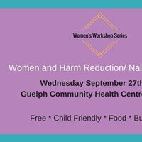 Womens Workshop - Womens Harm Reduction and Naloxone Training