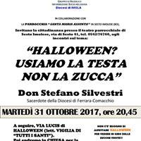 Conferenza su Halloween di don Stefano Silvestri