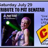 Tribute to Pat Benatar - Canceled