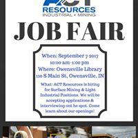 Industrial &amp Mining Job Fair