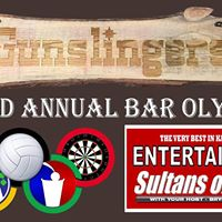 Bar Olympics &amp Karaoke at Gunslingers