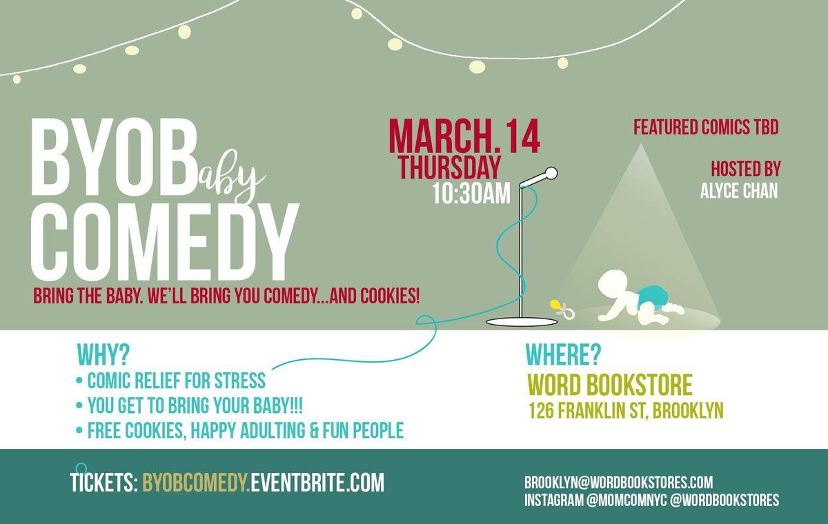 BYOB Cookies n Comedy - March 2019
