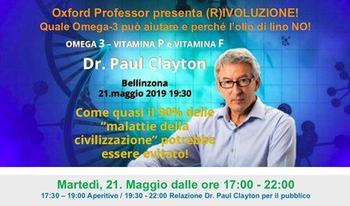 Dr. Paul Clayton im Tessin