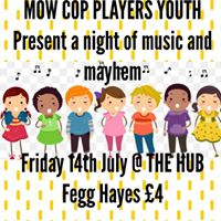 Mow Cop Youth present an evening of Music and Mayhem