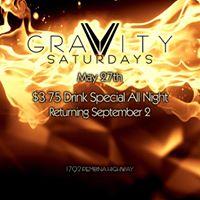 Gravity Saturdays SUMMER FINALE