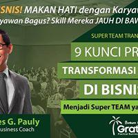 Gratyo Entrepreneur Gathering Jakarta - Coach Yohanes G. Pauly