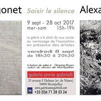 Vernissage Pascale Hugonet et Alexandre Gilibert