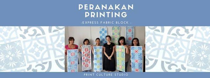 Peranakan Printing - Express Fabric Block