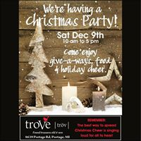 Christmas Party at troVe