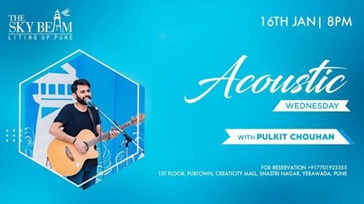 Acoustic Wednesday With Pulkit Chouhan