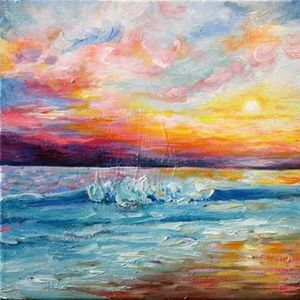 ArtNight Sunset on the Beach am 28042019 in Hannover