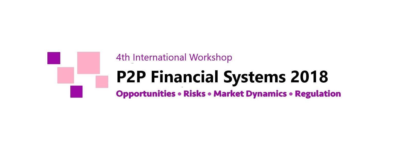 P2P Financial Systems International Workshop
