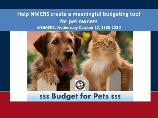 budget for pets friends family at navy marine corps relief