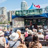 Geoff Claridge Quartet at TD Vancouver Jazz Festival