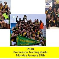 2018 Pre Season Training