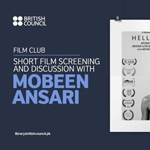 Short Film Screening and Discussion with Mobeen Ansari