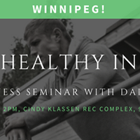 Winnipeg Get Healthy in 2017 Free Fitness Seminar with Dai