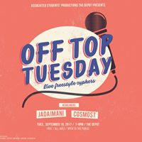 Off Top Tuesday feat Jada Imani and Wolfman Black