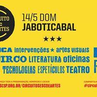 Jaboticabal recebe o Circuito Sesc de Artes