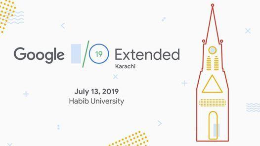 Google IO Extended 2019 Karachi