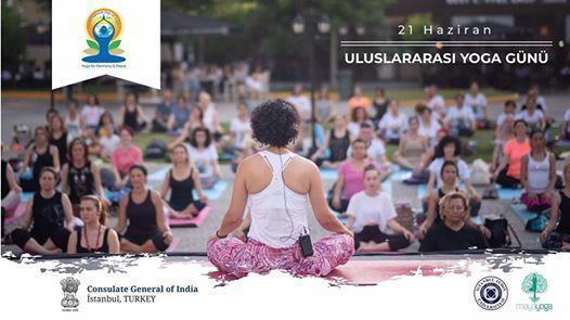 Maya Yoga 21 Haziran Uluslaras Yoga Gn Kutlamas