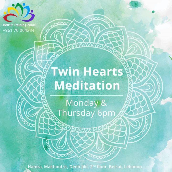 Twin Hearts Meditation by Ahmad Kronfol