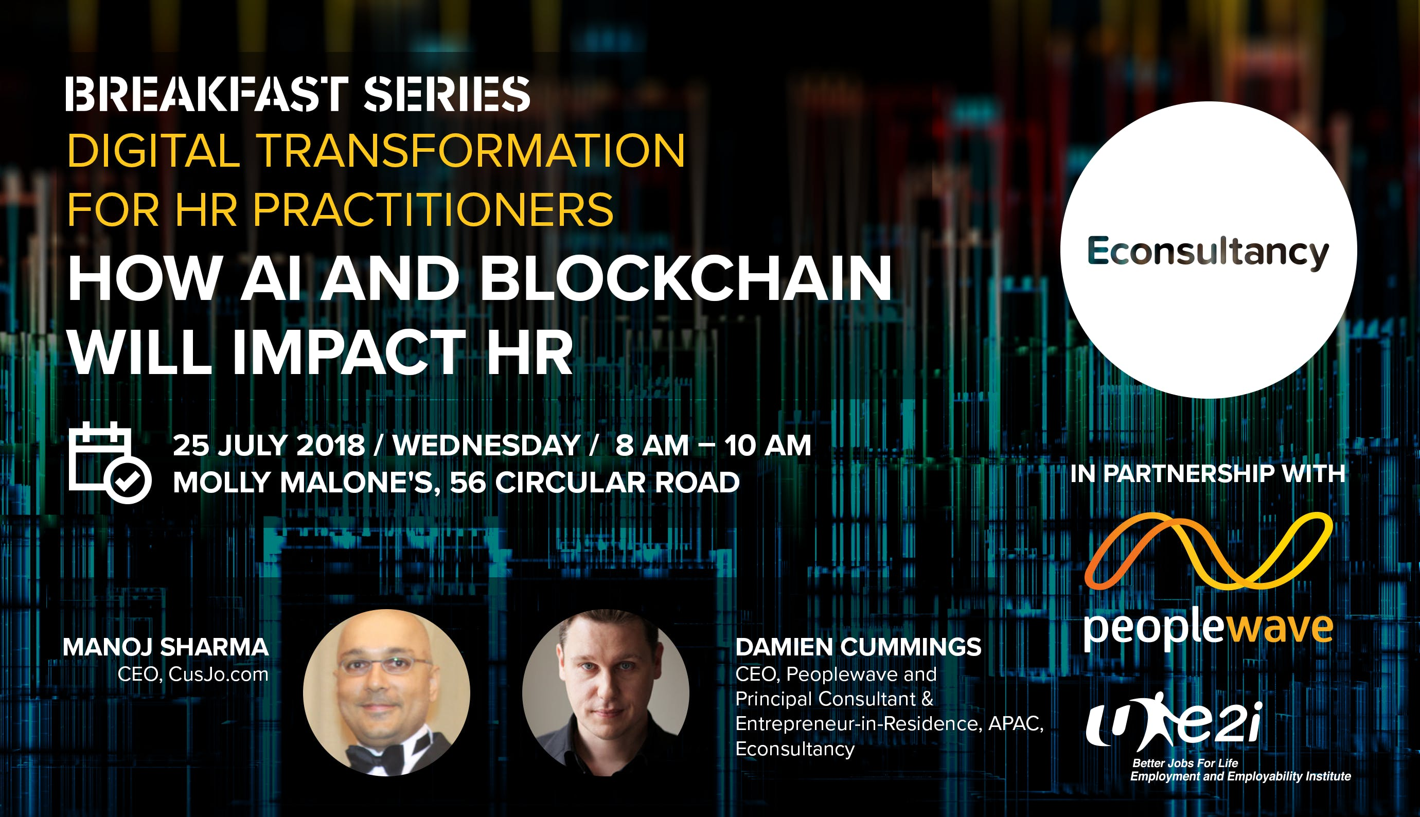 Breakfast Series Digital Transformation for HR Practitioners - How AI and Blockchain will impact HR