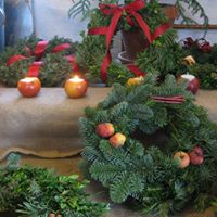 Julworkshop Tillverka din egen drrkrans
