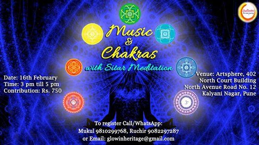 In Pune Sitar Meditation & Chakras