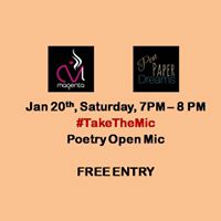 TakeTheMic- Poetry Open Mic
