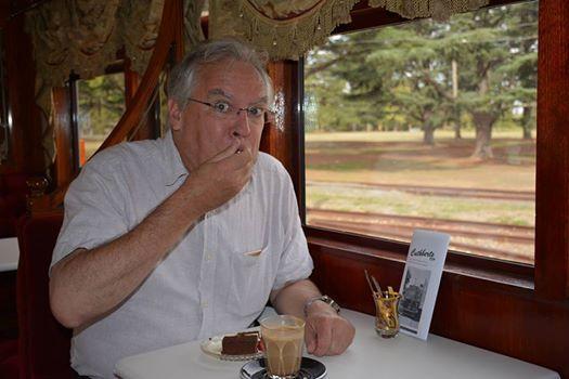 Devonshire Tea on a Vintage Tram