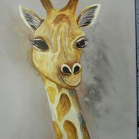Ginny Giraffe Paint Party