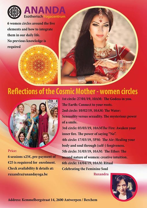 6 women circles Reflections of the Cosmic Mother