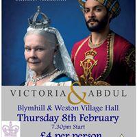 Film Night Victoria &amp Abdul