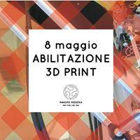 Stampa 3D _ abilitazione  workshop
