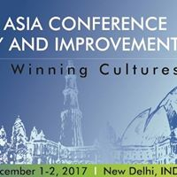 ASQ South Asia Conference for Quality &amp Improvement