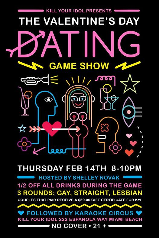 Valentine's Dating Game Show