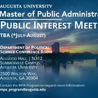 MPA Interest Meeting - Open to the Public