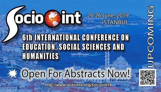 SocioINT 2019 6th International Conference Istanbul