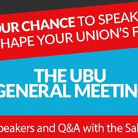 The UBU General Meeting