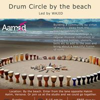 Drum Circle by the beach- Versova