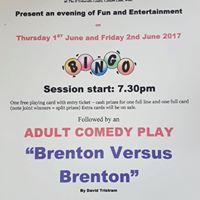 An Evening of Fun and Entertainment-Bingo &amp A Comedy Play-
