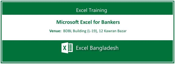 Training: Microsoft Excel for Bankers at Bdjobs Training, Dhaka