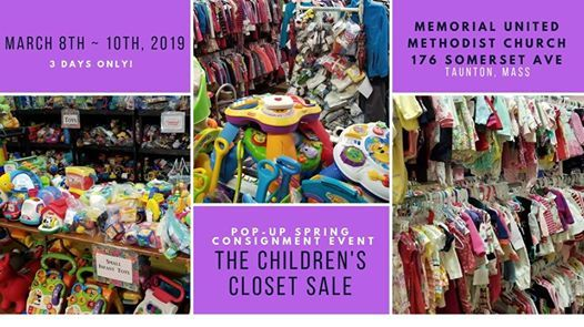 3 Day Pop Up Consignment Event At The Childrenu0027s Closet ...