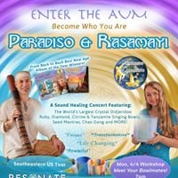 Paradiso and Rasamayi And Dale Allen Hoffman  Enter the AUM  Asheville in association with AEFest