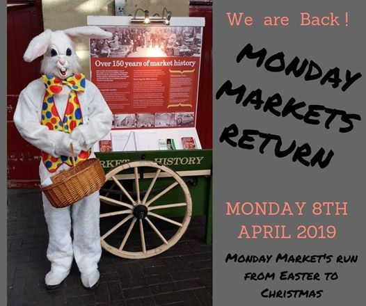 The Return of Our Monday Craft & General Market