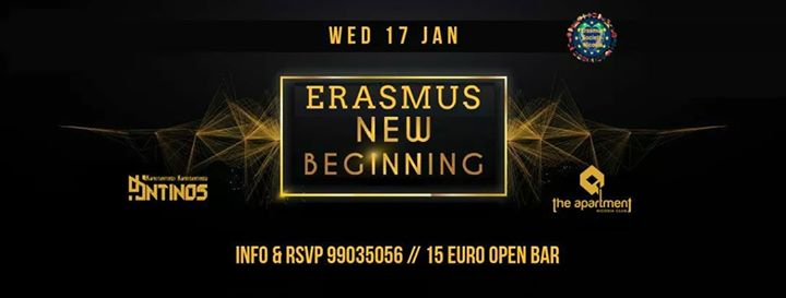Erasmus New Beginning (OPEN BAR)